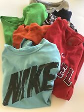 Lot Of 7 Boys Tee Shirts Size Medium and 1 X Small Mixed Brands