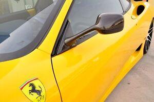 Ferrari F360 360 Modena Carbon Fiber Challenge Mirrors NIB!!