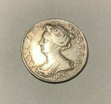 More details for 1703 queen anne silver sixpence - vigo - spink 3590