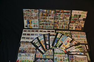 World cup Football large unmounted mint collection of m/sheets, sets etc.