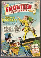 FRONTIER FIGHTERS #1 1955 SCARCE SOLID #1 KUBERT BUFFALO BILL,DAVY CROCKETT