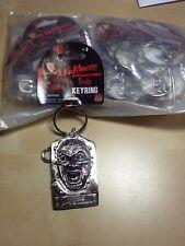 Lot (12) New~ Nightmare On Elm Street Freddie Krueger Metal Mask Key Chain