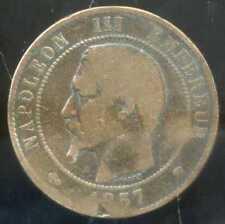 FRANCE   FRANCIA   10 centimes NAPOLEON III   1857 MA ( 2 )