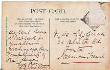 Genealogy Postcard - Family History - Greener - Fenton - Stoke on Trent   U2800