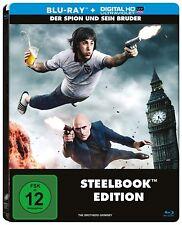 DER SPION UND SEIN BRUDER (Sacha Baron Cohen) Blu-ray Disc, Steelbook NEU+OVP