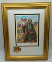 Number & Signed Leighton Jones Emmett Kelly Clown Dog GUESS WHO'S COMING DINNER