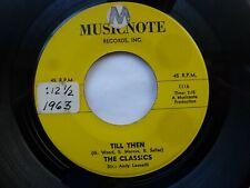 CLASSICS 45 'ENIE MINIE MO' USA MUSICNOTE 1963 R&B DOO WOP SOUL POPCORN STROLLER