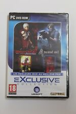 DEVIL MAY CRY 3 and RESIDENT EVIL 4. Set PC. Language Frances, New and sealed