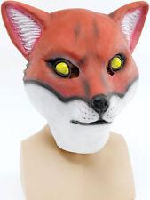 Mr Fox Mask Foxy Movie Animal Fancy Dress Stag Party Book Day Wolf Halloween