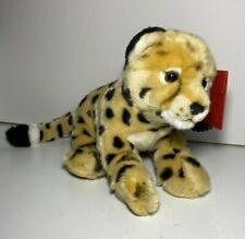 "FAO Schwarz Baby Cheetah Leopard Cub Plush Stuffed Animal 18"" NWT FREE SHIPPING!"
