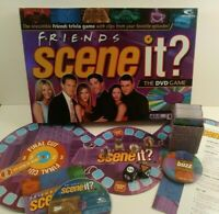 Friends Scene It Board Game 100% Complete - TV Show DVD Trivia Game