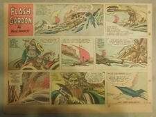 Flash Gordon Sunday Page by Mac Raboy from 6/17/1956 Half Page Size