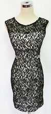 SEQUIN HEARTS Black Cocktail Day Party Dress 7 -$70 NWT