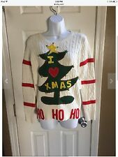Grinch Ugly Christmas Sweater - Adorable - Women's Sz XL - Holiday Cheermeister