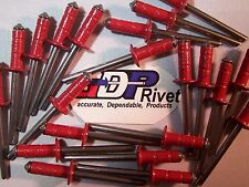 FREE Red Ultimate multi-grip rivets BUY 250 Get 100 extra FREE RED color US made