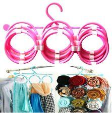 Scarf Organiser Multifuctional Rings Palstic Tie Hanger