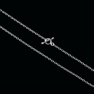 """Georg Jensen. Sterling Silver Anchor Chain with Toggle Clasp A50 - 43 cm / 16,9"""""""