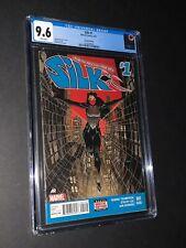 Silk #1 2nd Print CGC 9.6