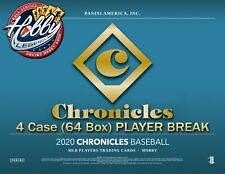 Stephen Strasburg NATIONALS 2020 Chronicles 4 Case (64 Box) PLAYER Break