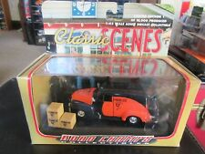 Road Champs 1954 Chevy Suburban U-Haul Moving Panel Van Truck w/ Boxes 1:43