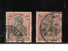 Alemania Imperio Valores del año 1902-4 (AY-138)
