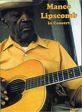 Mance Lipscomb In Concert Guitar Performance DVD *NEW*