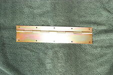 "Steel Piano Hinge (Yellow Zinc) 1""x2""x14"" 20 gauge, Made in USA [A133-1-0+0-15]"
