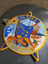 ALASKA STATE TROOPER SHOULDER PATCH nice looking new patch