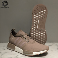 ADIDAS NMD R1 PK 'FRENCH BEIGE' - S81848 - VAPOUR GREY PRIMEKNIT