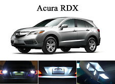 Xenon White LED Package. License Plate + Vanity + Reverse for Acura RDX (8 Pcs)
