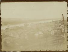 Allemagne, Vue panoramique sur le Rhin  Vintage citrate print Tirage citrate