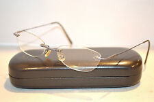 VOGUE VO 3361 603 Silver Metal Rimless Eyeglasses Frames Made in ITALY 50-17-135