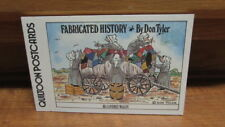 Postcards - Quiltoon Postcards - Fabricated History - Re-Covered Wagon - New