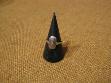 ███► VECCHIO ANELLO con brillante/800er argento-per circa 1900 (VASSOIO 92)