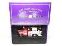 matchbox Collectors Guild Exclusive Bedford Fire Truck - Mint In Box
