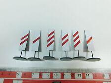 AY605-0, 5 #2x Ets Gauge 0 975 Set Blech-Warnbake/Traffic Signs, Mint