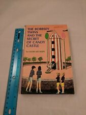 The Bobbsey Twins and the Secret of Candy Castle #61 Hardcover Lavender Spine