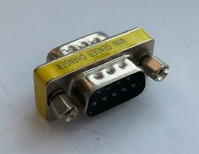 DB9 DSUB 9-pin Adapter RS-232 Gender Coupler Male to Male (D15)