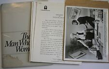 "1983 ""The Man Who Loved Women"" Press Kit w/7 Photos Burt Reynolds Julie Andrews"
