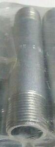 "Carbon Steel ASA106B Sch 80 Galv Pipe Nipple 3/4"" NPT Threaded TBE x 5"" (1 Pc)"