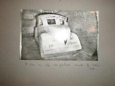 RPPC postcard car ice palace Jungfrau Switzerland c1954
