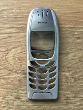 Nokia 6310i - 6310 Facia Front Cover - Silver - Screen Protected - New