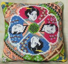 Japanese Style Mini Cushion Cross Stitch Kit, Sheena Rogers Designs