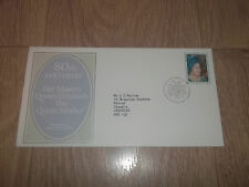 FIRST DAY COVER ROYAL MAIL 80TH THE QUEEN MOTHER ~ 4 AUGUST 1980