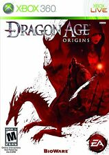 XBOX 360 Dragon Age Origins Video Game Multiplayer Online Fantasy Full 1080p HD