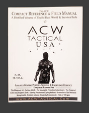 ACW Compact Reference & Field Manual #survival EDC BOB everyday book emergency