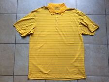Nike Golf Stretch UV Stripe Polo Shirt--Large-Del Sol-NWOT