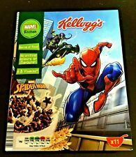 KELLOGGS EMPTY BOX SPIDER MAN GOBLIN COLLECTOR ITEM  (picture of two sides)