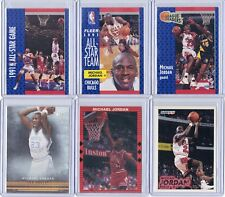 MICHAEL JORDAN HOF BASKETBALL LOT OF 12 INSERT TRADING CARDS CHICAGO BULLS