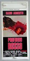 PROFONDO ROSSO - DARIO ARGENTO - LOCANDINA ORIGINALE 1975 - CM 33 X 70